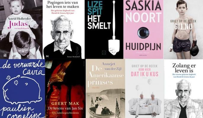 Best Verkochte Boeken Nederlandse En Vlaamse Auteurs